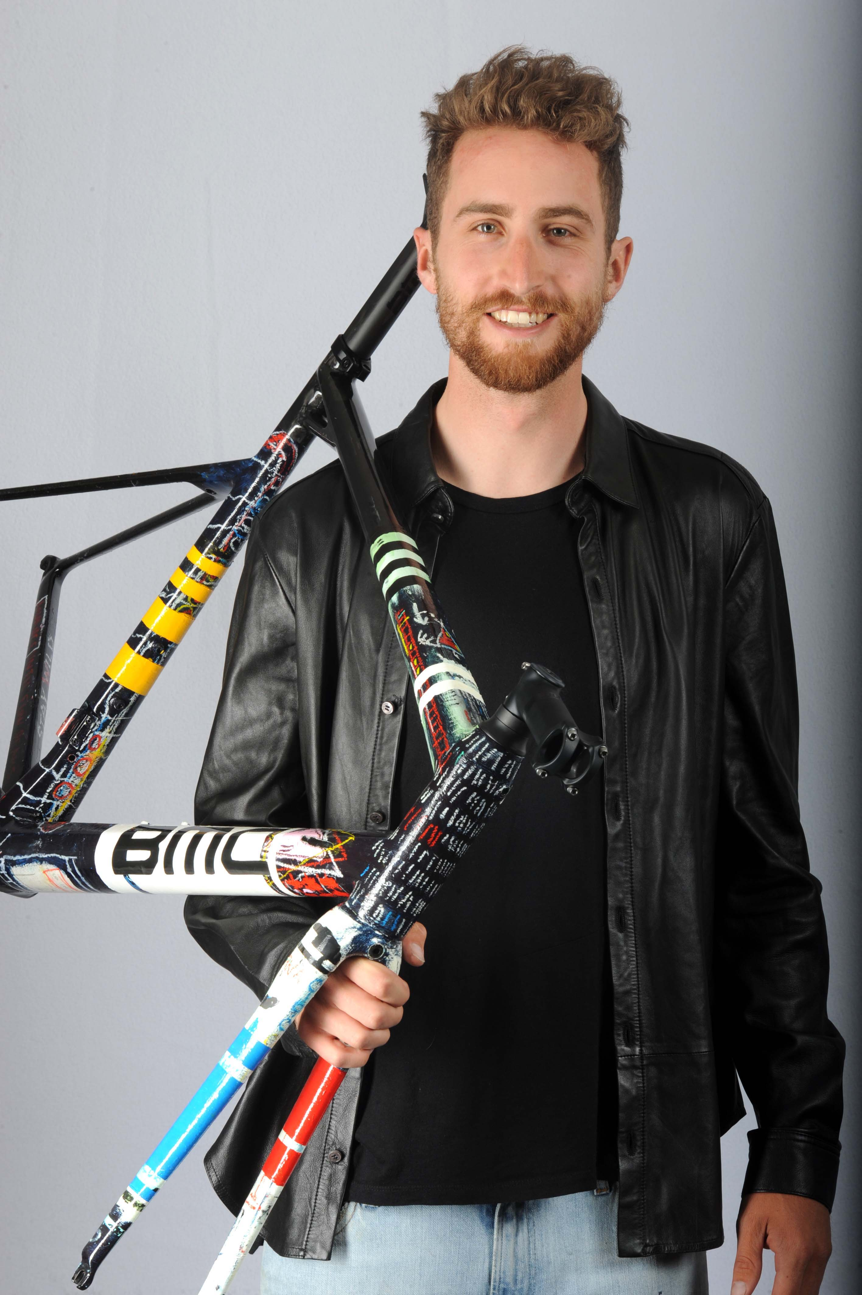 BMC bike painted by Taylor Phinney to be raffled for Parkinson's charity