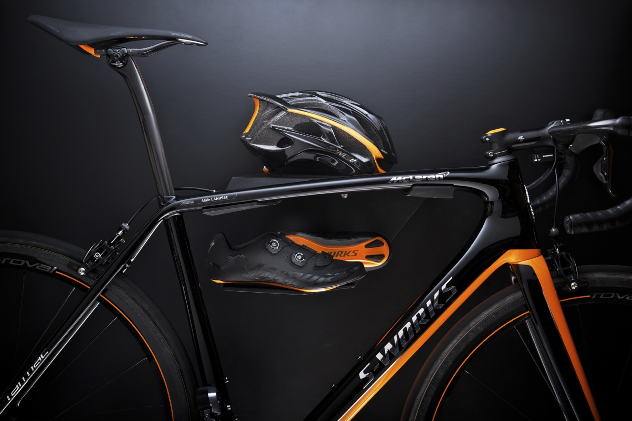 Specialized Releases Limited Edition Mclaren S Works