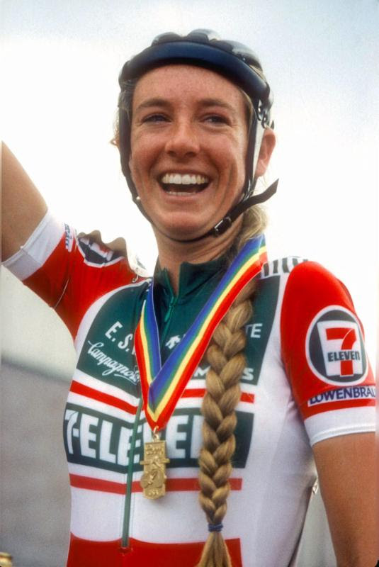 Retired Racer Inga Thompson To Work On Women S Cycling