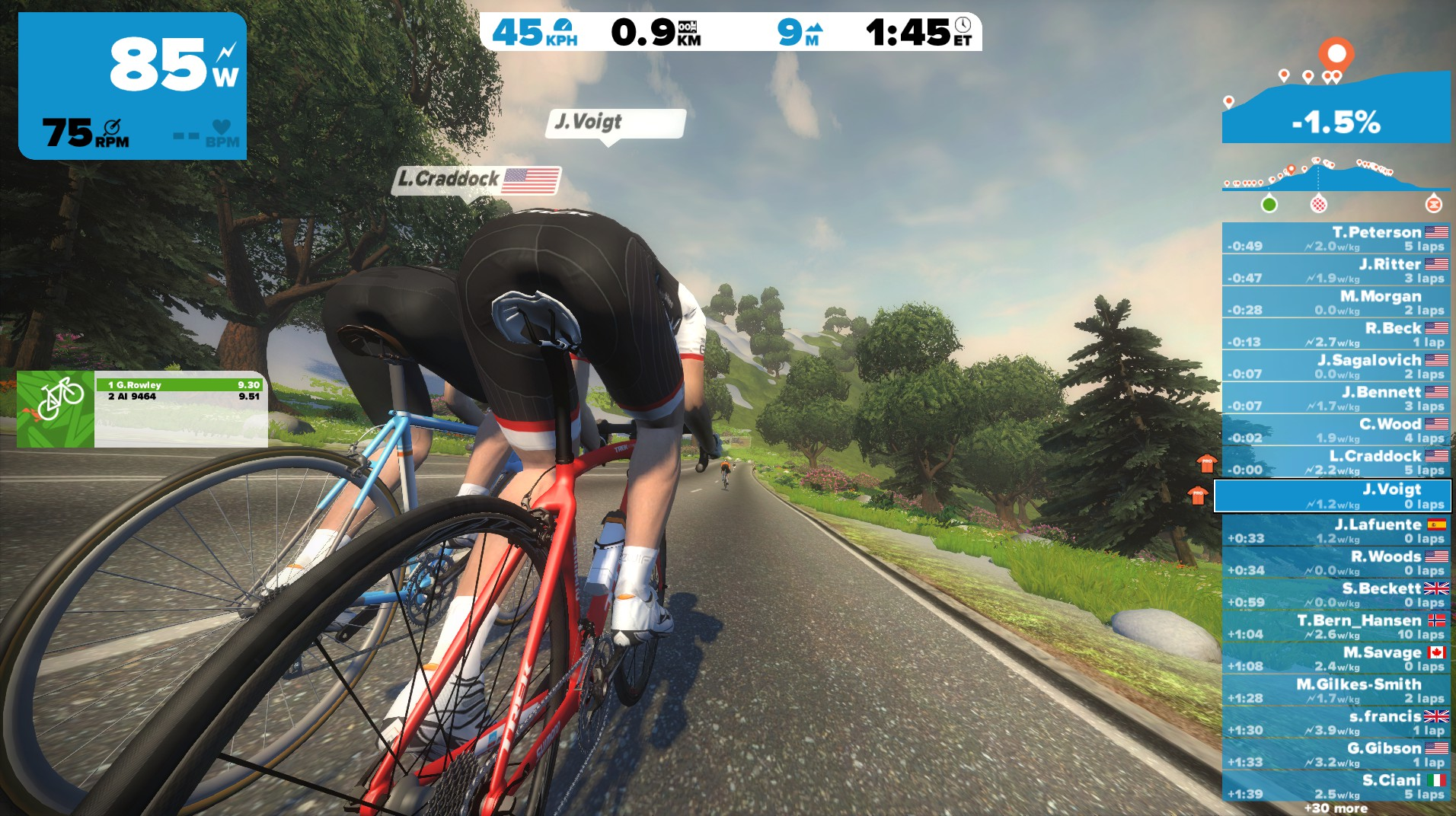 Zwift announces Voigt, Ten Dam as ambassadors | Bicycle