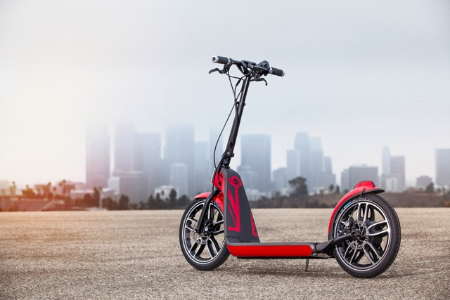 Concept Mini Scooter Gets Its Kick From Bionx Motor Bicycle Retailer And Industry News