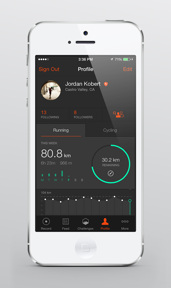 Photo: The Strava app, version 4.2, is available now in the App Store and will soon be available in Google Play. .