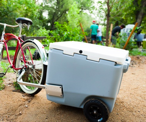 Rovr Coolers Can Be Towed Behind Bikes On All Terrain Wheels Bicycle Retailer And Industry News