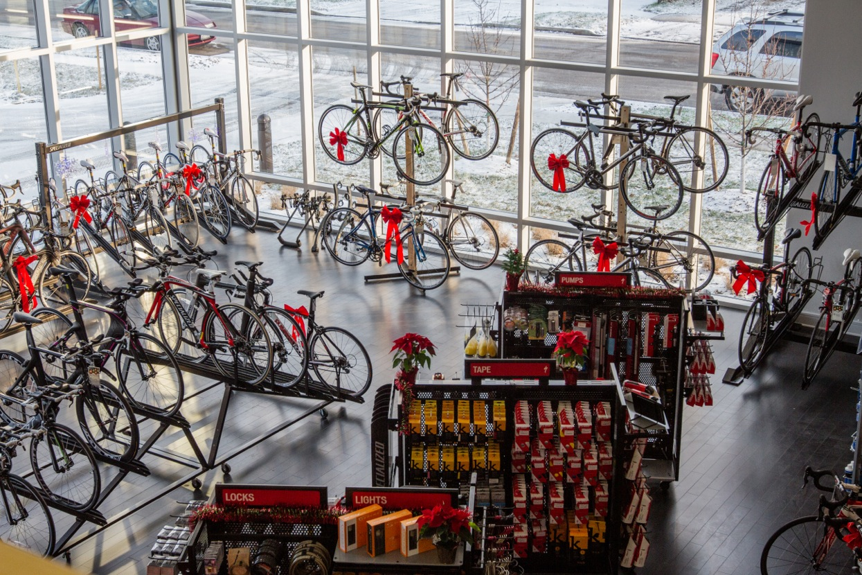 Shop Remodels Specialized Elite Store Bicycle Retailer And Industry News
