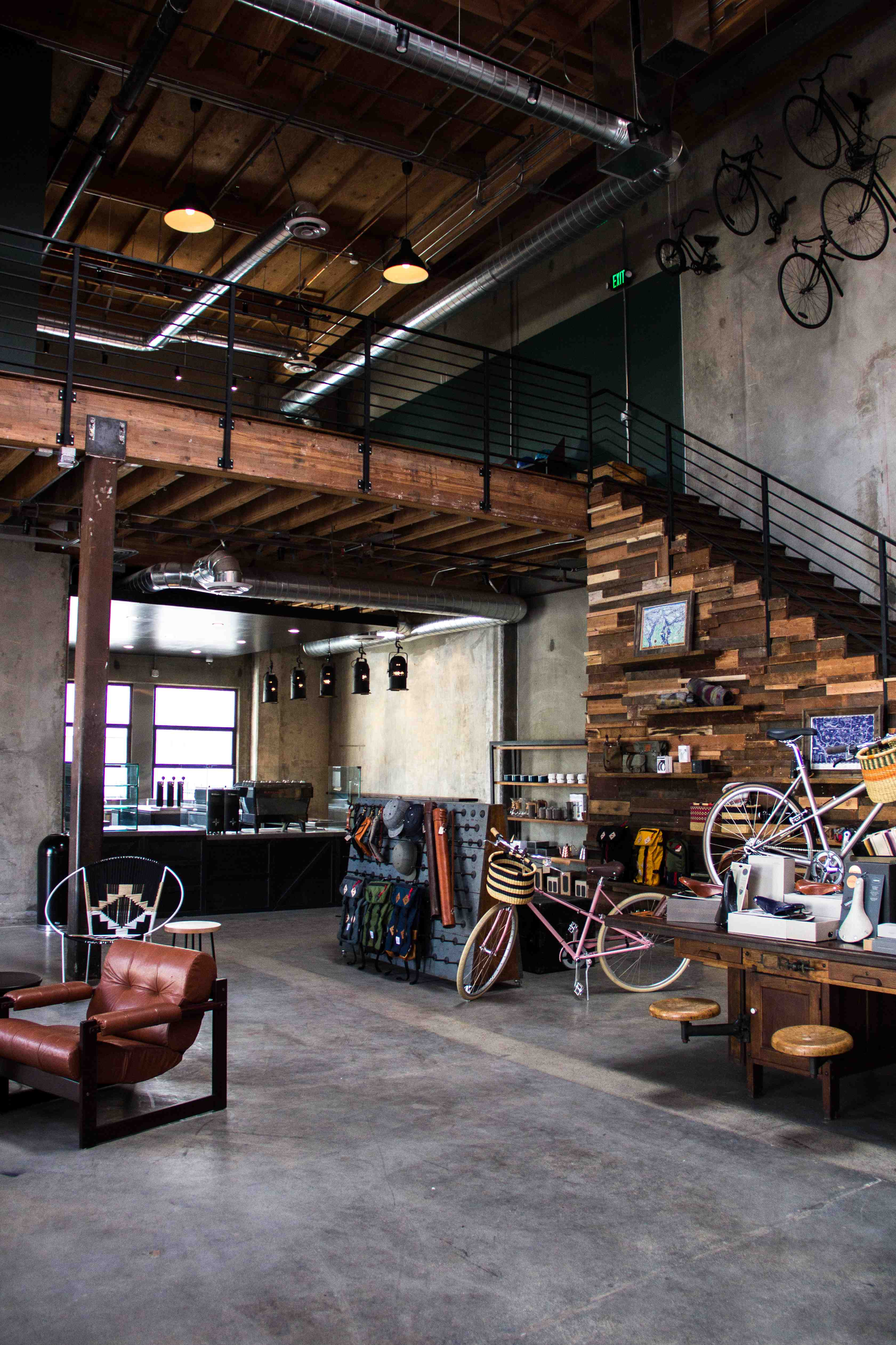 new urban focused shop and caf opens in downtown la bicycle retailer and industry news. Black Bedroom Furniture Sets. Home Design Ideas