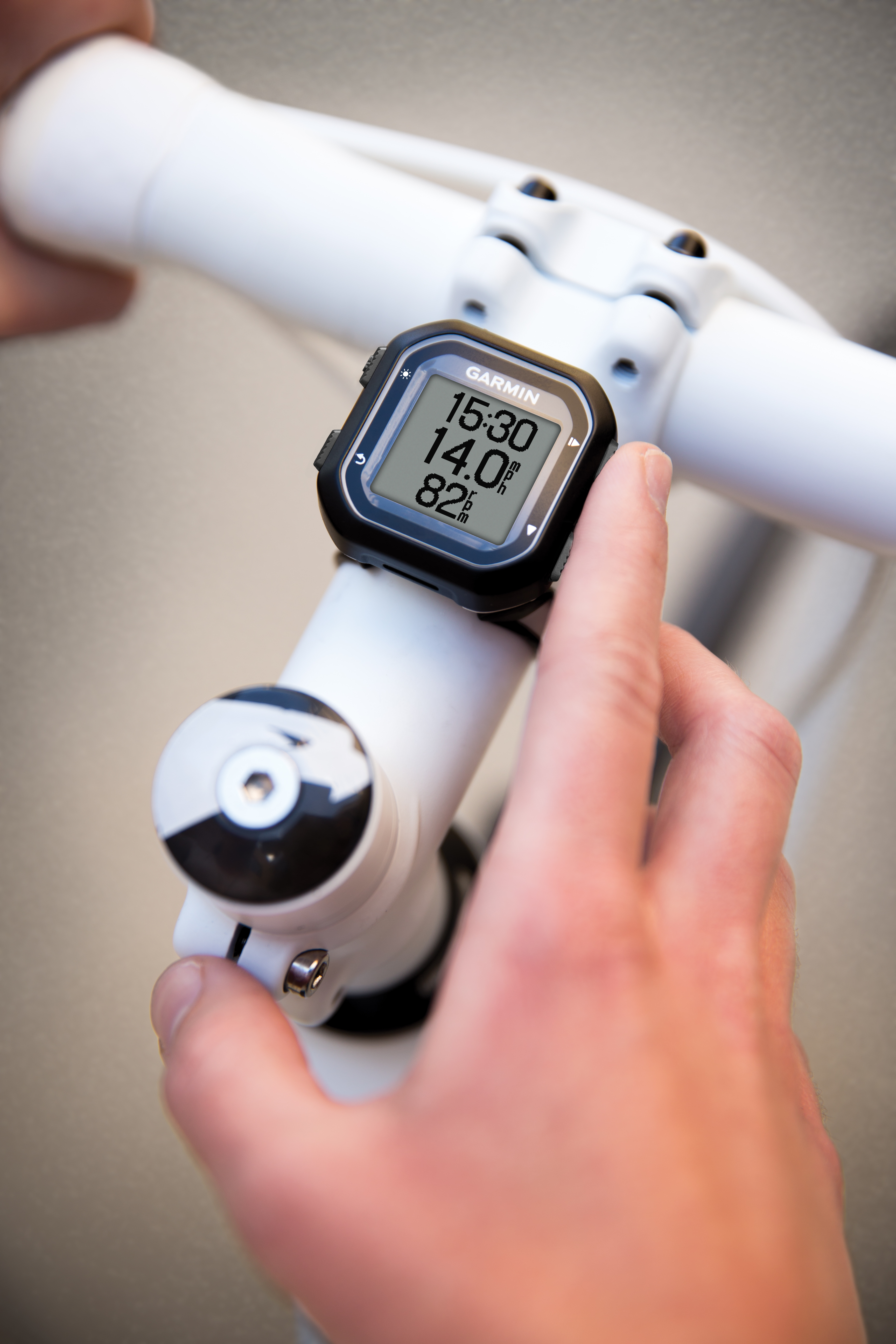 Garmin offers two small-and-simple bike computers