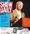 2015 Show Daily, Day 1 cover