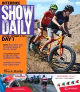 2015 Show Daily, Day 2 cover