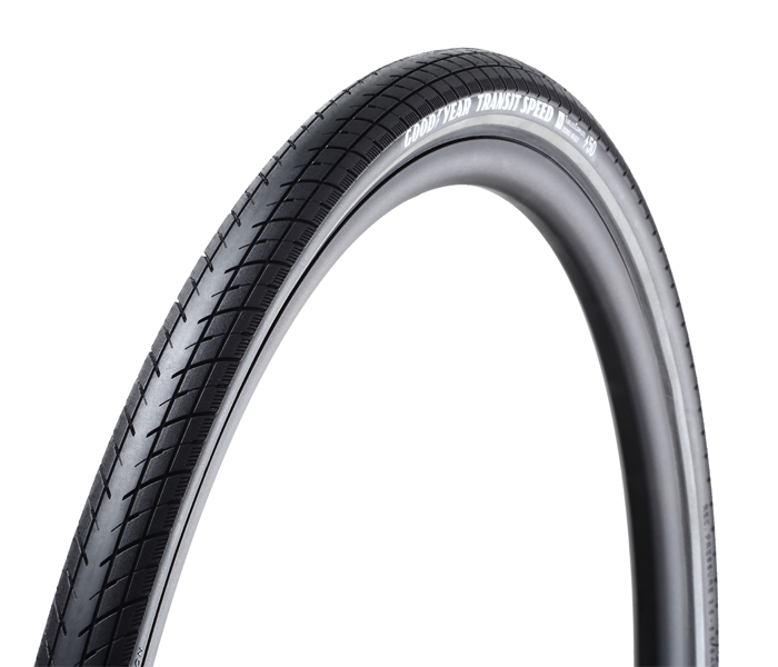 The Transit Speed 700c urban tire comes in widths of 35, 40 and 50 millimeters and is approved for use on speed pedelecs in Europe.