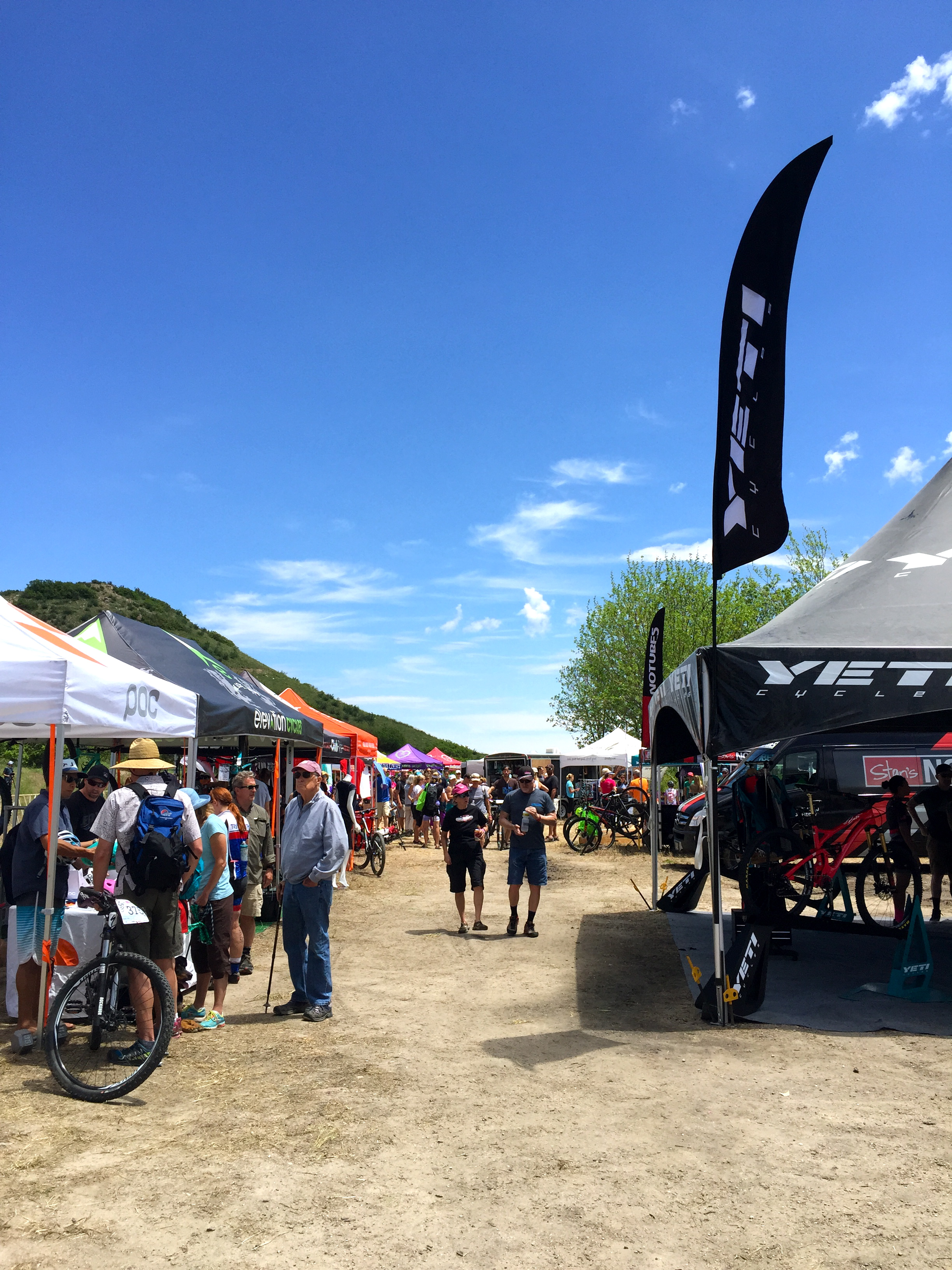The 6th annual Beti Bike Bash drew nearly 400 female racers and a variety of vendors and sponsors.