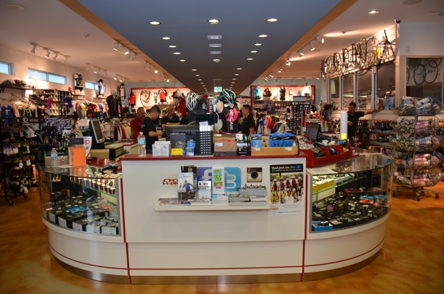 Cycle World Miami does 60% of its business with foreign visitors. That's one reason the store is packed with inventory, while also being nicely merchandised.
