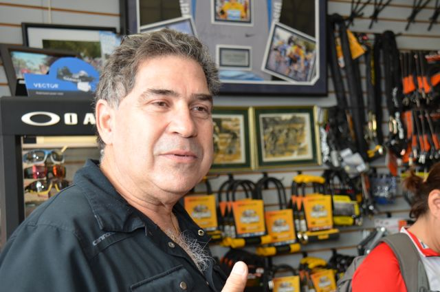 Jack Ruiz grew up in the business, opening Miami Beach Bicycle Center when he was 19 years old. The former road racer hopes to keep the business--around since 1977-- in the family with sons Danny and Alex taking over the shop.
