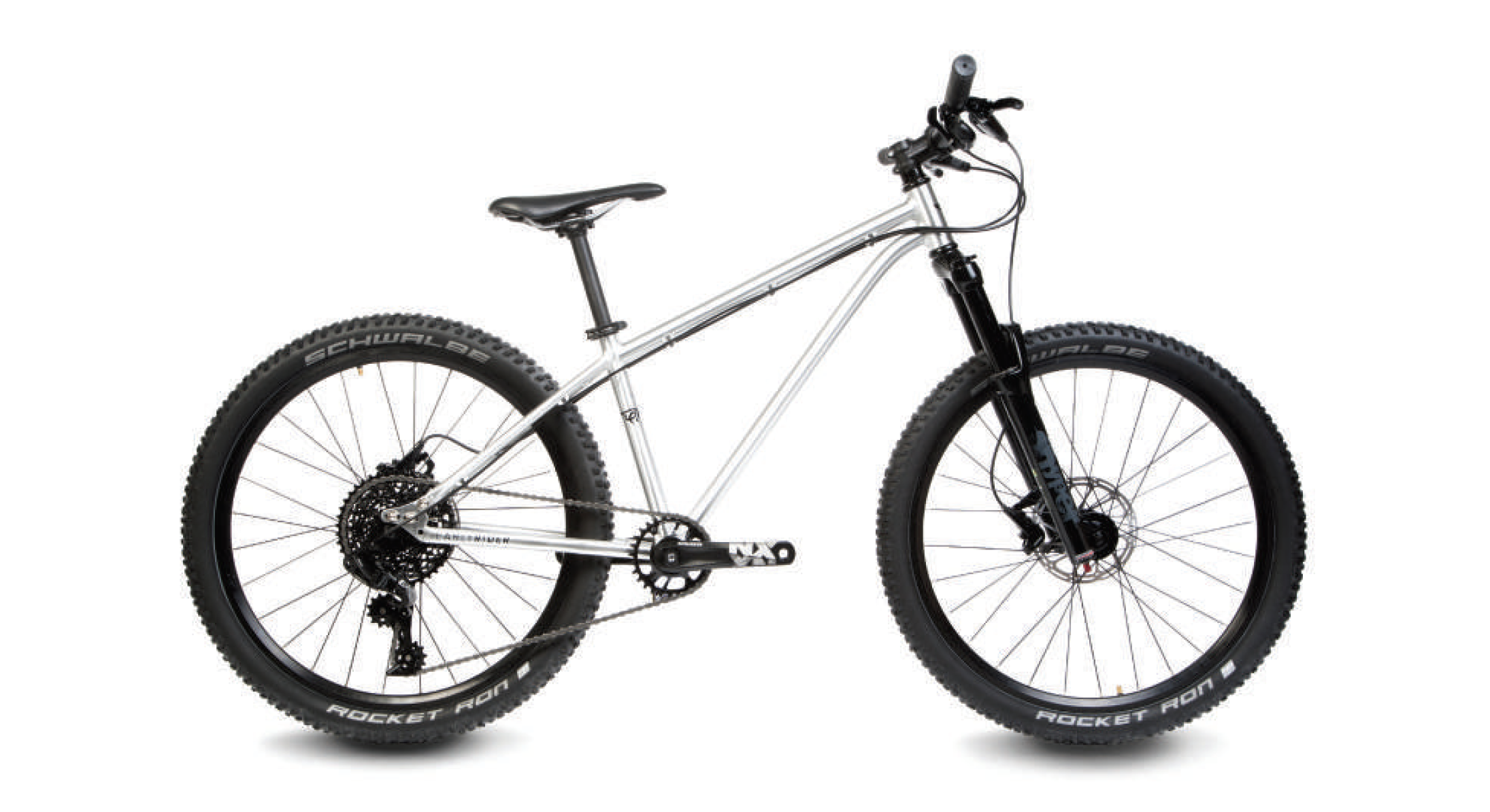 The Early Rider T24 Works Edition aluminum hardtail is outfitted with a mix of SRAM and Ritchey components and lightweight Maxxis trail tires. It retails for ,299.