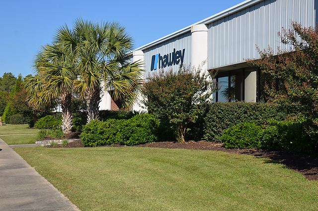 Hawley-Lambert's headquarters in Lexington, South Carolina, has 10,000 square feet of office space and a 50,000-square-foot warehouse.