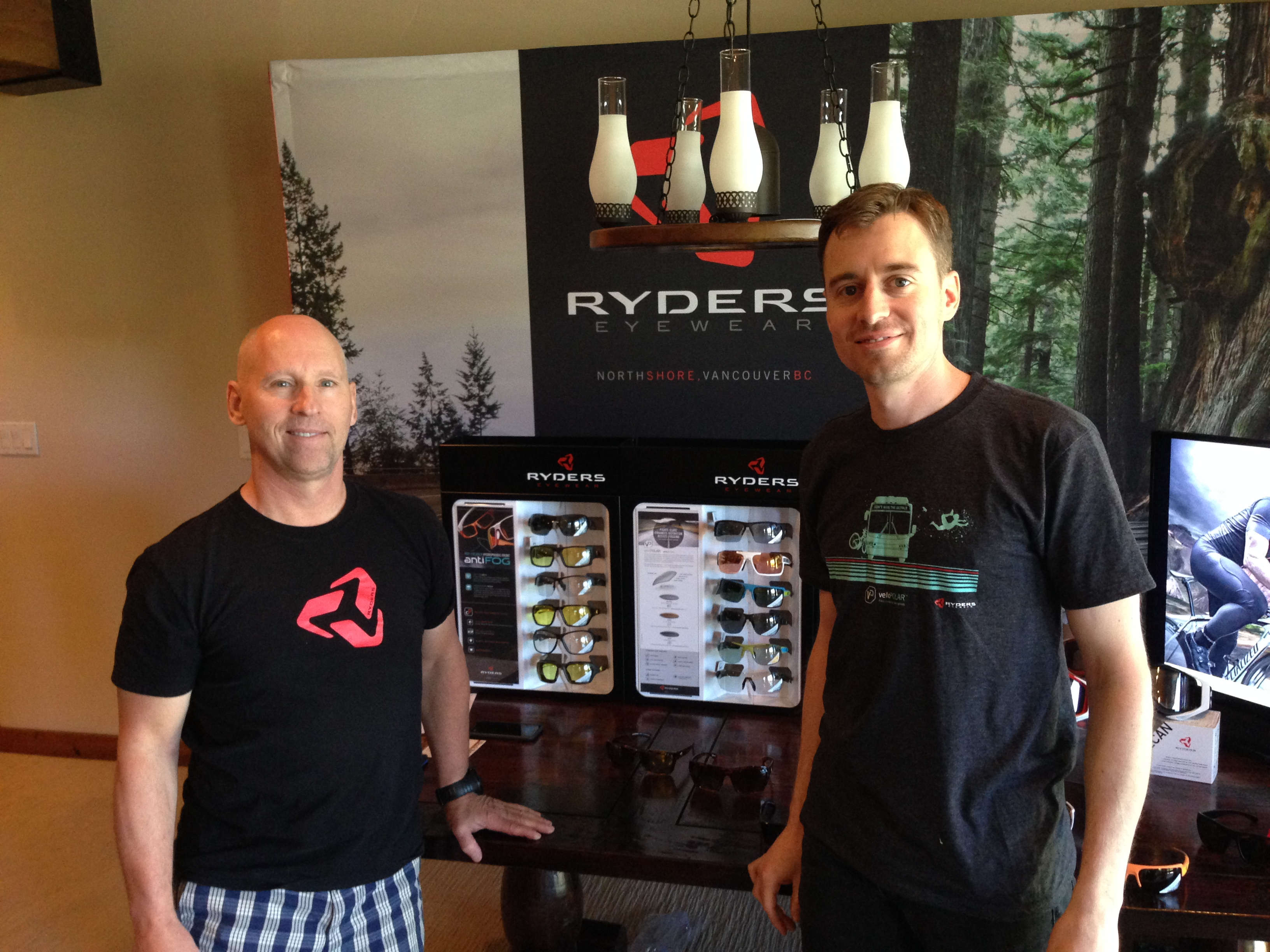 Dave Snow, left, and Michael Quinn at Ryders.