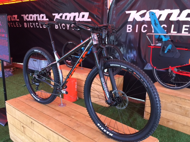 Kona's Honzo ST aggressive hardtail will be available in complete build this summer.