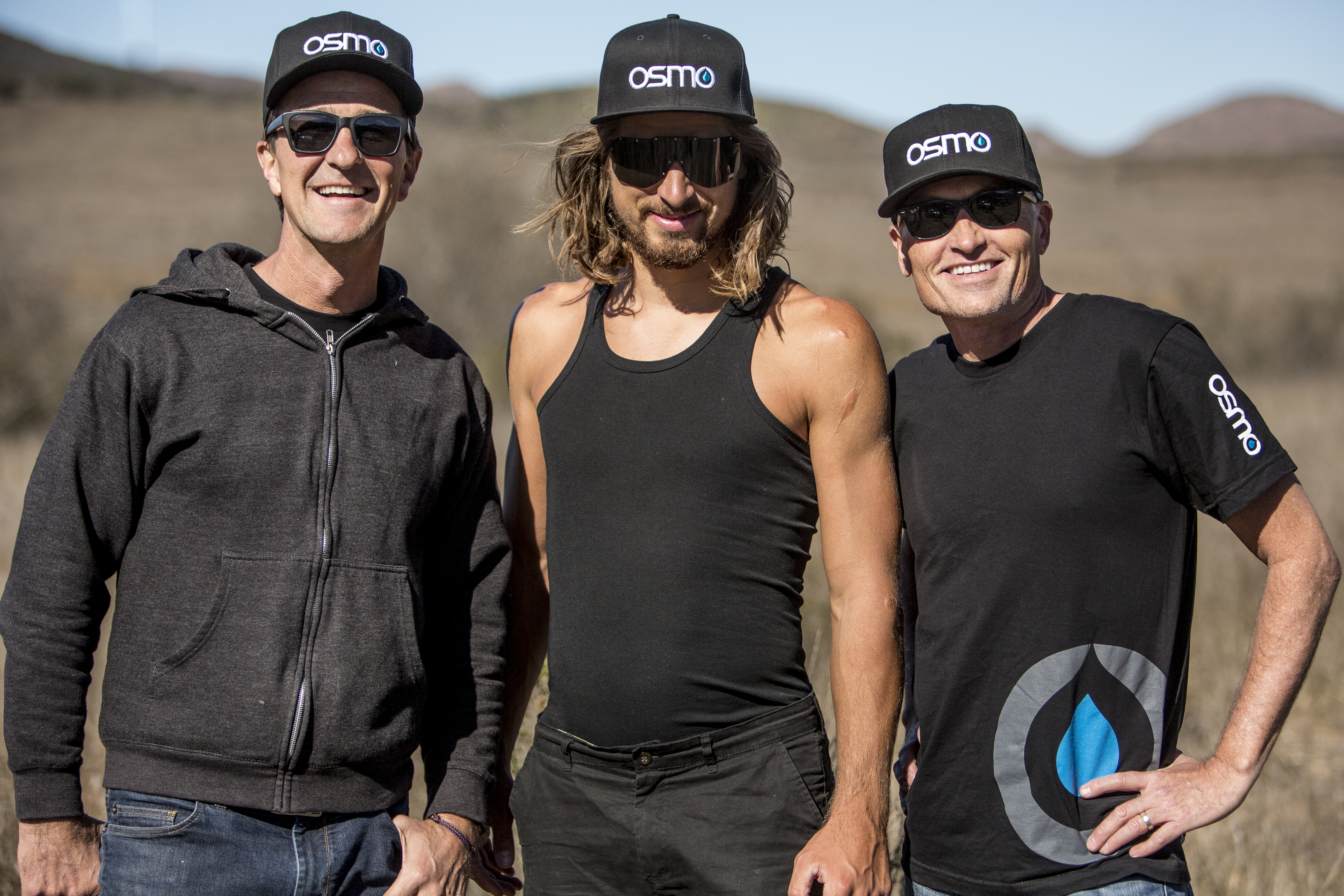 (left to right): Capron, Sagan and Hutchinson.