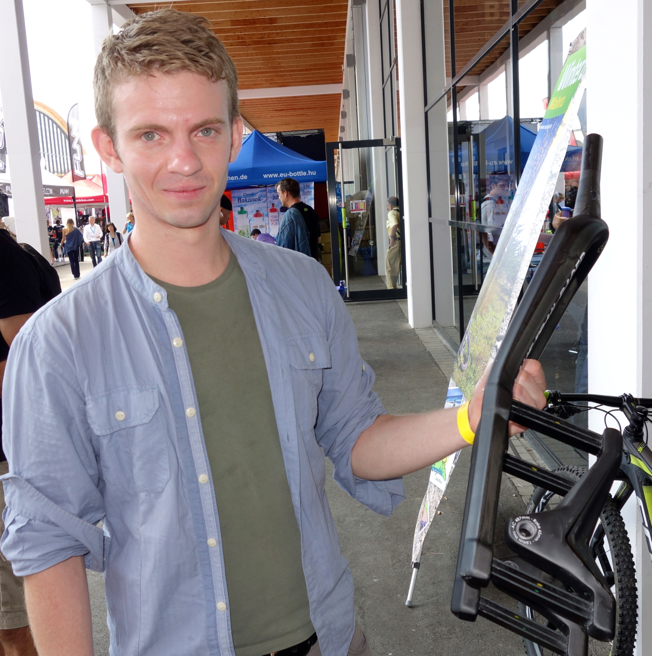 Co-founder and CEO Benedikt Skulason was inspired by high-tech athletic prosthetics