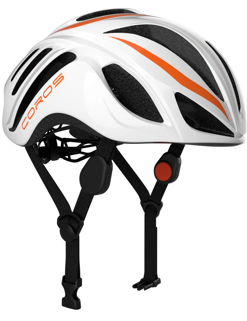 The Coros Linx Smart helmet.