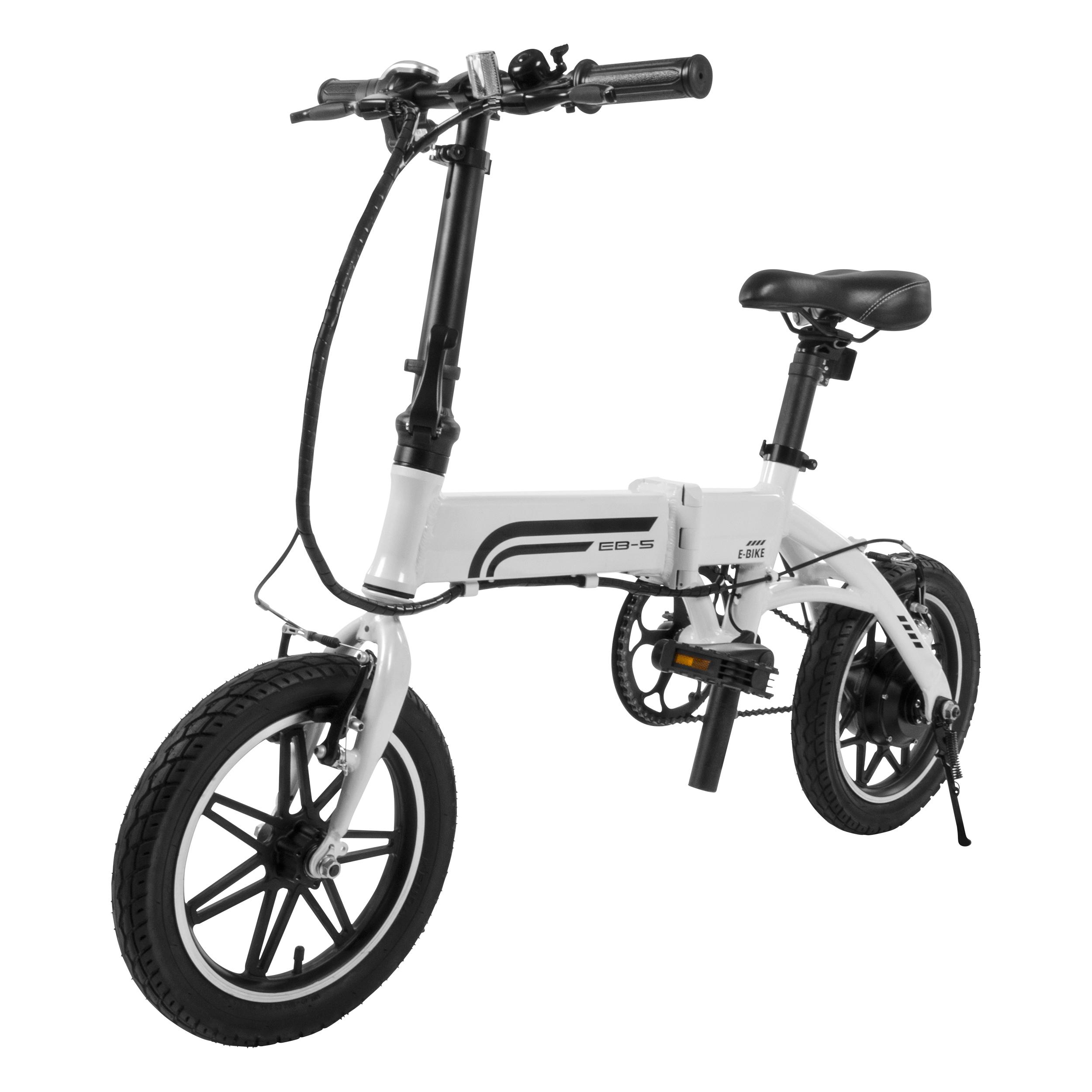 The EB-5 is a folding e-bike.