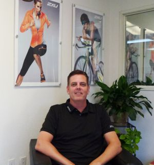 2XU USA's new president, Scott Taylor.