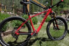 The new Pivot Les 27.5 hardtail.