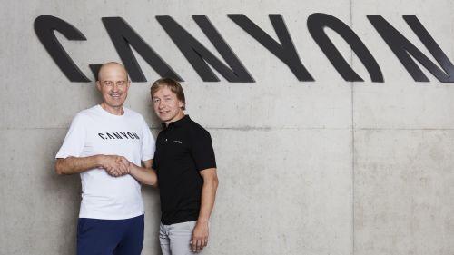 Roman Arnold (left) with Armin Landgraf.