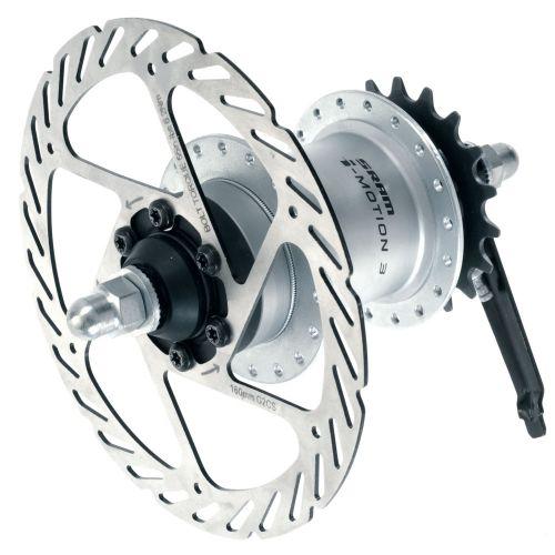 SRAM's I-Motion 3 disc brake hub.