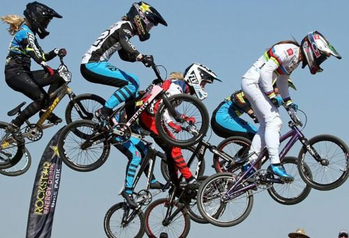 USAC press photo from the 2020 BMX National Championships.