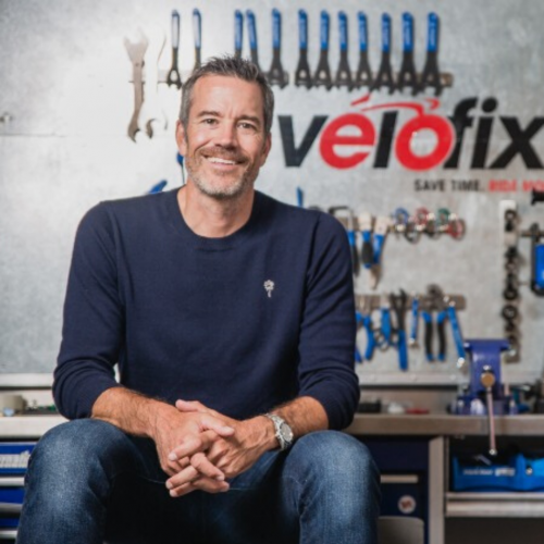 Velofix' Chris Guillemet.