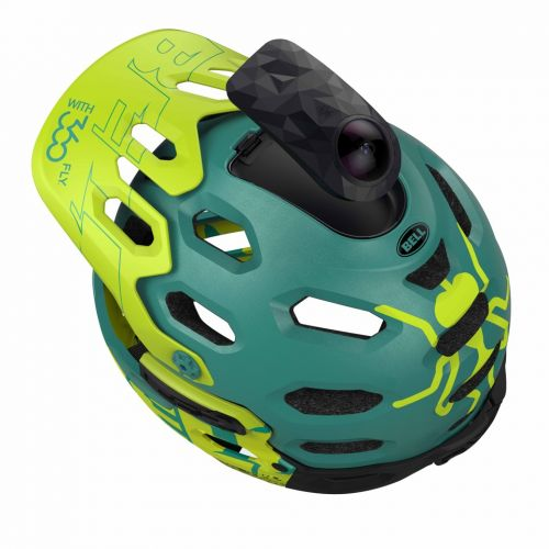 The Bell Super 2R with 360fly.