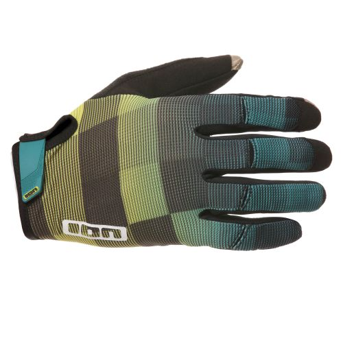 The ION Path glove model in green-yellow fade.
