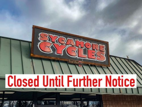 Sycamore Cycles posted this on its Facebook page.