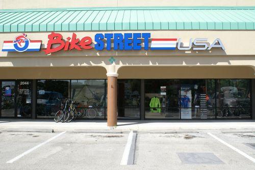 A BikeStreet location in Stuart, Florida.