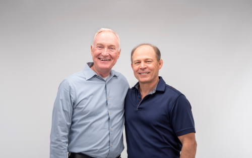 Bill Smith (left), who has spent the past 25 years working at Huffy and the last eight as CEO, will retire at the end of December. Claude Jordan will assume leadership of the company.
