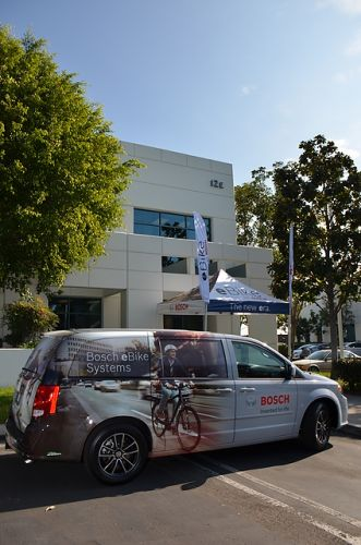 Bosch's U.S. office for its e-bike division in Irvine, California
