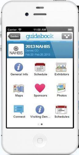 The NAHBS mobile app