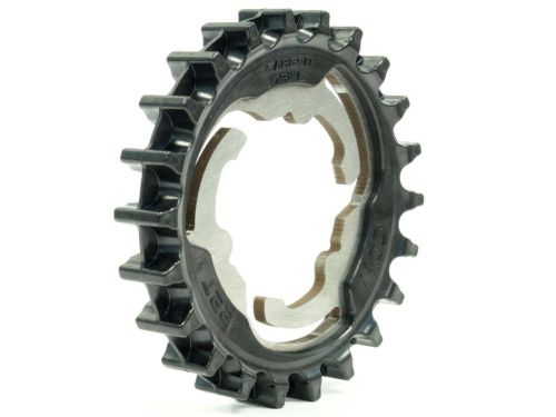Gates' new composite sprocket.