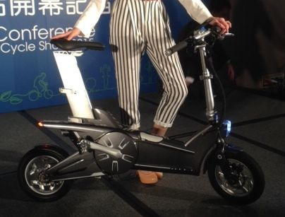 Dahon hopes to release the electric MoDe:Me in 2016.