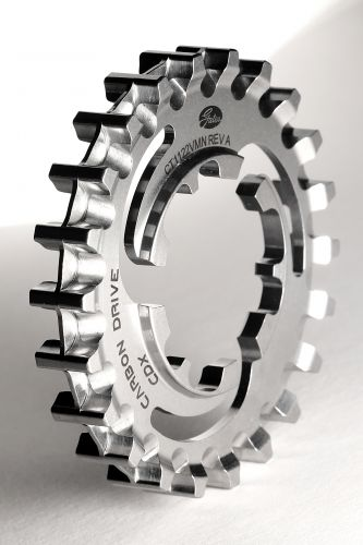 The Gates 22-tooth rear sprocket.