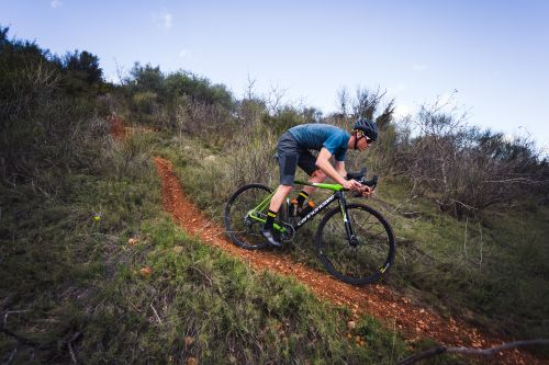 Mavic introduced an expanded Allroad wheel and apparel line this spring.