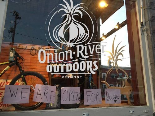 Onion River Outdoors reopened in early May