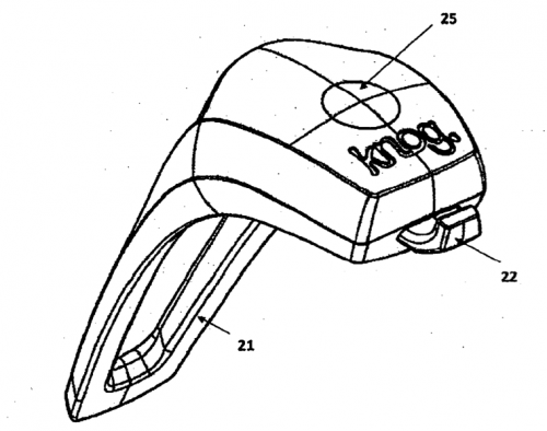 Drawing from Knog's patent application.