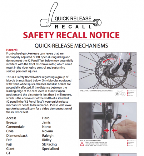 Part of the recall poster (full poster is below).