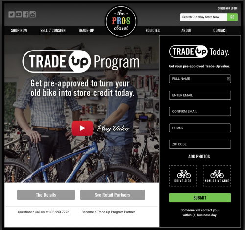TPC plans a national roll-out of its Trade-Up program.