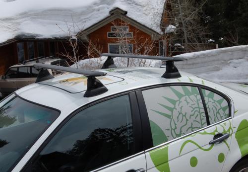 WPM SmartCrossbars on a car