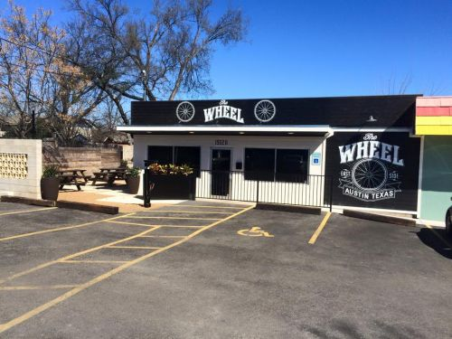 Cycling-inspired bar The Wheel opened in Austin last month.