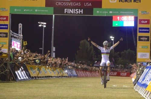 World Champion Wout Van Aert won the 2016 CrossVegas