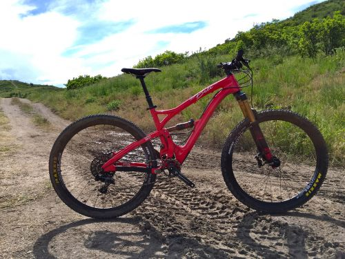 The carbon Yeti Beti SB5c retails for $6,899.