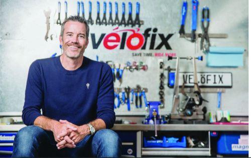 Chris Guillemet, co-founder, Velofix